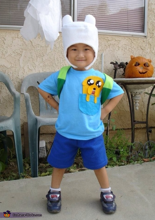 Adventure Time Family Halloween Costume Idea