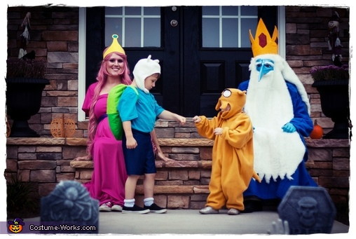 Adventure Time Family Costumes DIY