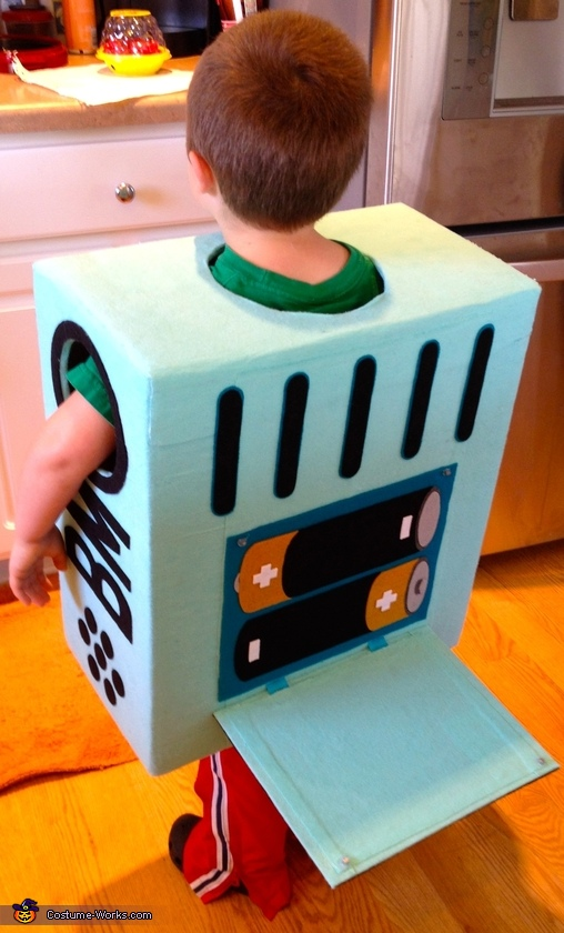 BMO battery compartment open!, Adventure Time BMO Costume