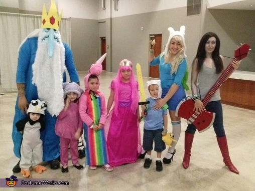 sc 1 st  Costume Works & Adventure Time Family Costume
