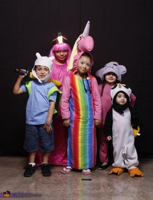 Adventure Time Family Costume Idea