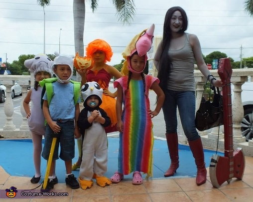 Adventure Time Family Costumes