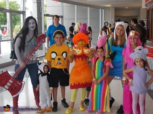 Adventure Time Couples Costume Adventure Time Family Costume