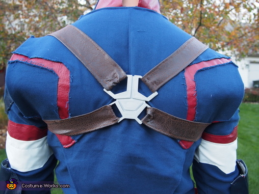 Back detail, Age of Ultron Captain America Costume
