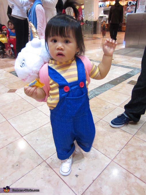 despicable me baby agnes costume