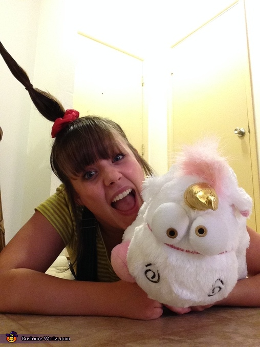 Oh happy day! Oh wondrous life! OH MAGICAL UNICORNS!!!, Despicable Me Agnes Costume