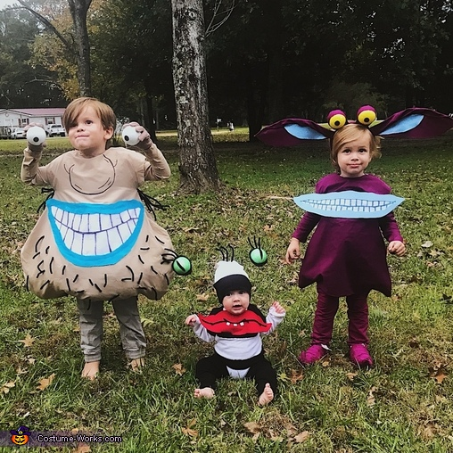 Ahh Real Monsters Costume