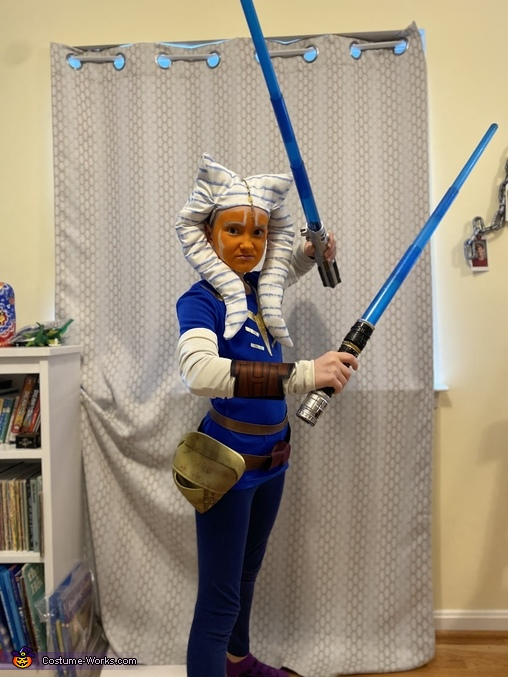 Ahsoka Tano Homemade Costume
