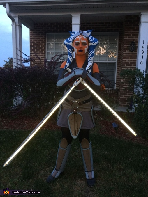 Ahsoka Tano Homemade Costume