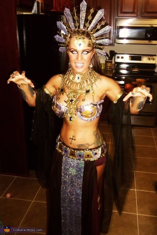Akasha-Queen of the Damned - Homemade costumes for women