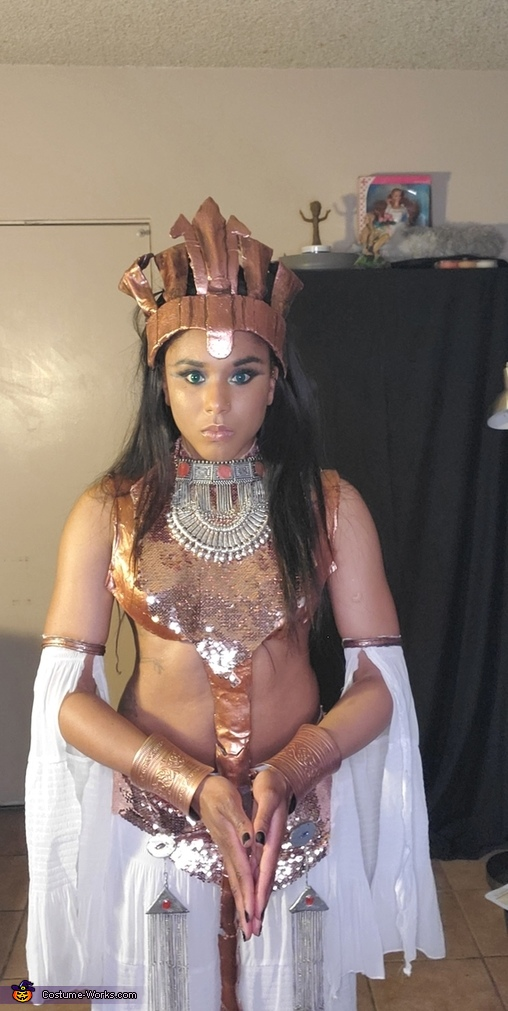 Akasha Queen of the Damned Homemade Costume