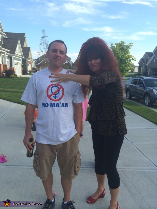 Al and Peg Bundy Costume