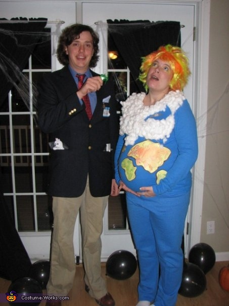 Al Gore and Global Warming Couple Costume