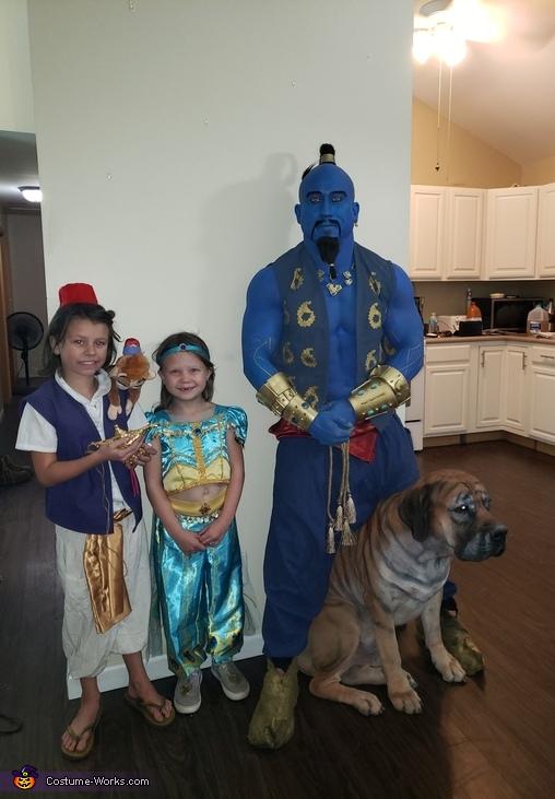 Aladdin Homemade Costume