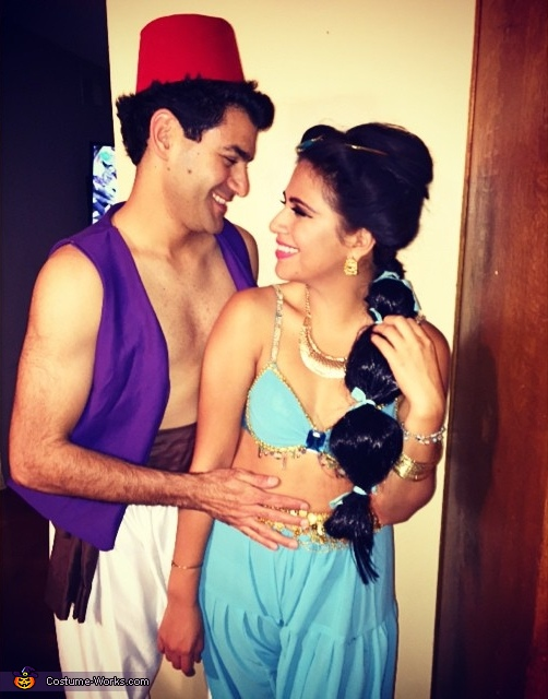 Aladdin and Jasmine Costume