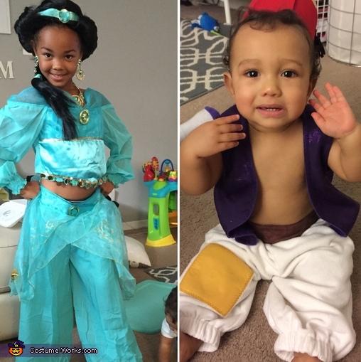 Aladdin & Jasmine, Aladdin and Jasmine Costume
