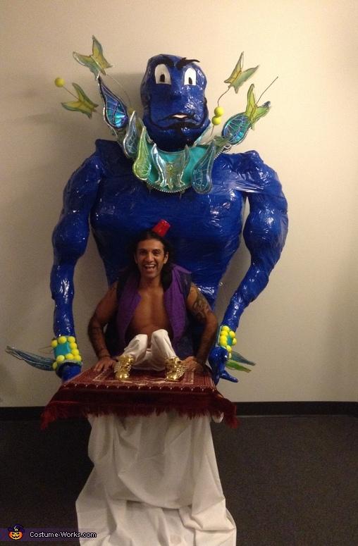 Aladdin & Genie Costume