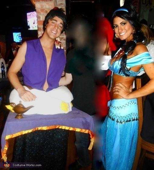 Aladdin & Jasmine Homemade Costume