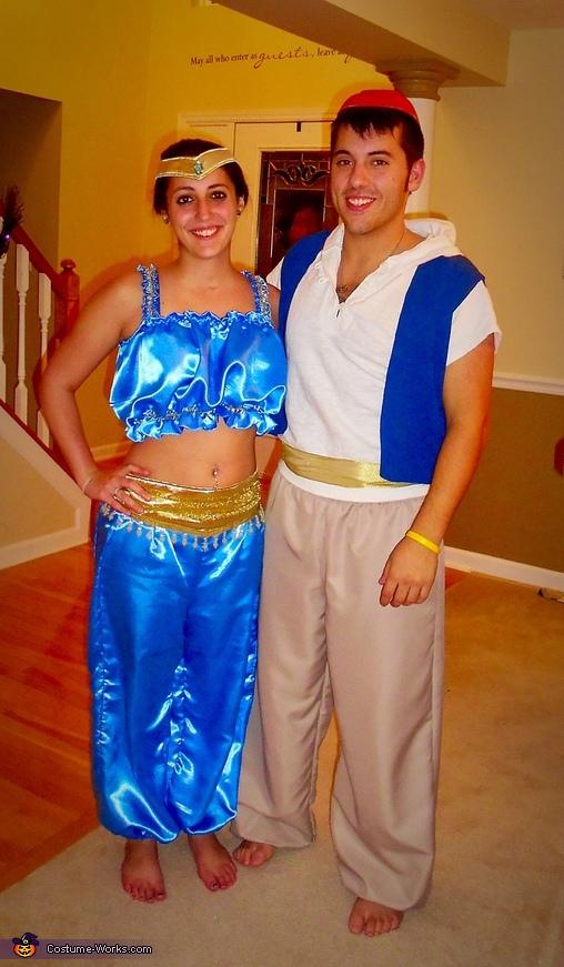Aladdin & Jasmine Costume