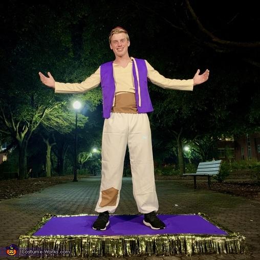 Aladdin with Magic Carpet Costume