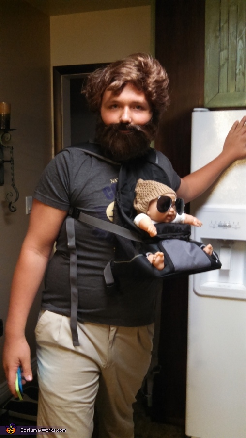 Alan from Hangover Homemade Costume