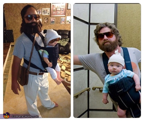 Movie comparison , Alan from The Hangover Costume