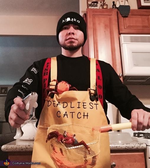 Alaska Deadliest Catch Homemade Costume