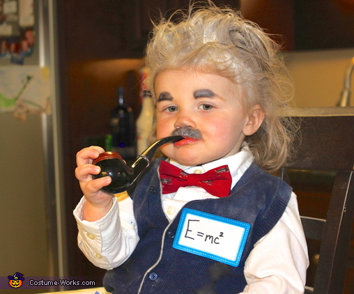 Albert Einstein Baby Costume