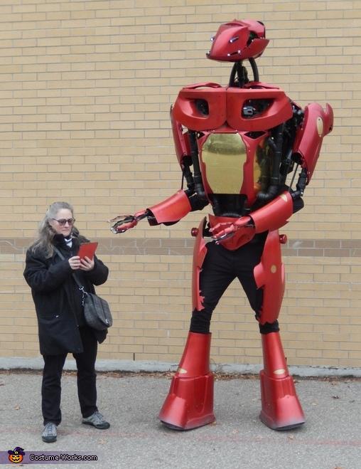 Alex 4.5 Robot Costume