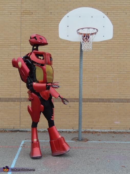 Alex 4.5 Robot Homemade Costume