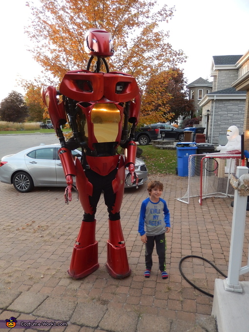 Alex 4.5 Robot Homemade Costume