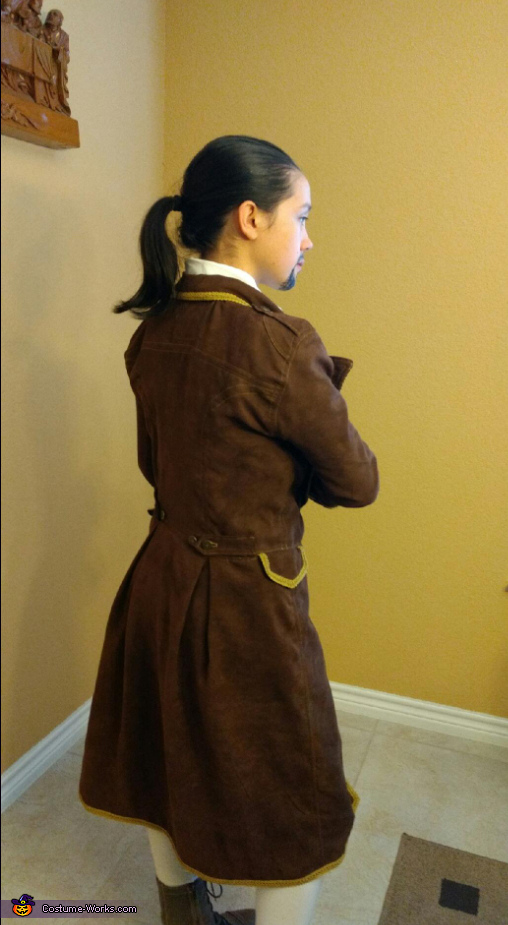 Jacket Back, Alexander Hamilton Costume