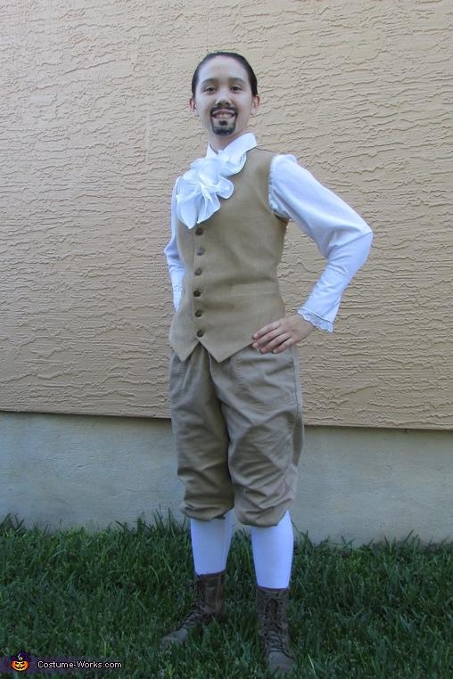 Without Jacket, Alexander Hamilton Costume