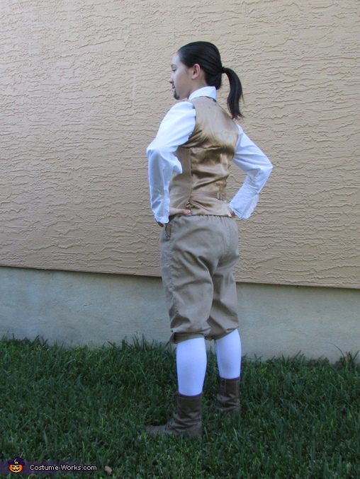 Back Without Jacket, Alexander Hamilton Costume