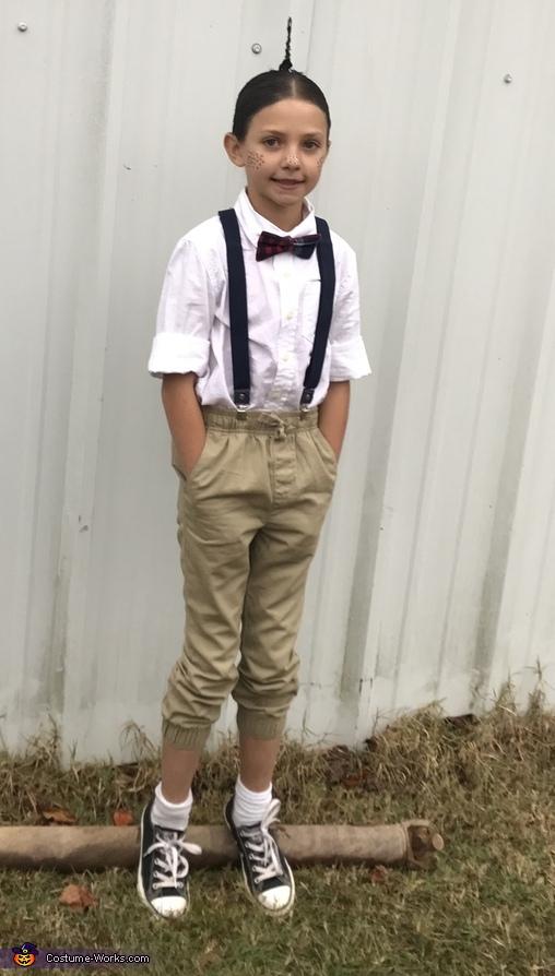 Brylee as Alfalfa Costume