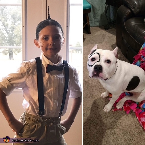 Alfalfa and Petey, Brylee as Alfalfa Costume