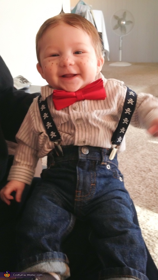 One happy little Alfalfa , Alfalfa Baby Costume