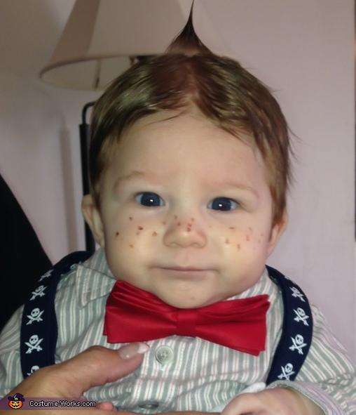 Alfalfa Baby Costume