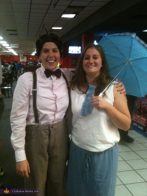The Little Rascals Alfalfa and Darla Couples Costume