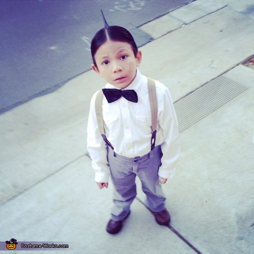 Vincent as Alfalfa, Alfalfa & Cowboy Costume