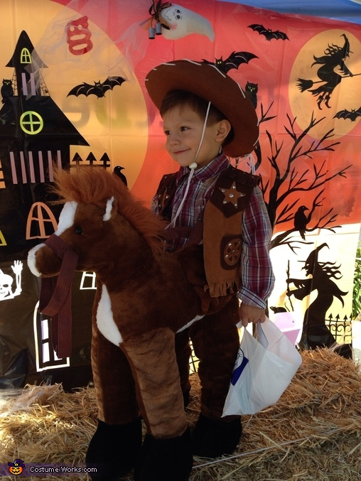Sonny as the cowboy, Alfalfa & Cowboy Costume