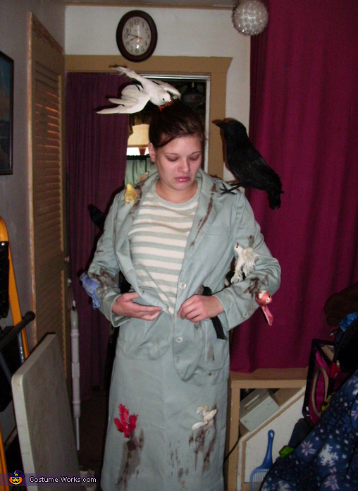 Alfred Hitchcock's The Birds Tippi Hedren Costume