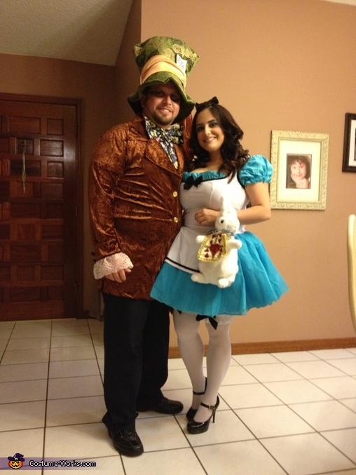 Alice In Wonderland & Mad Hatter Costume