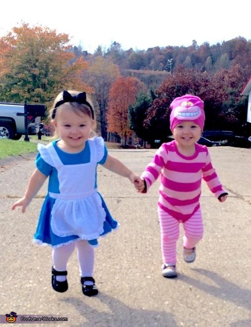 Alice and Cheshire Cat Costume