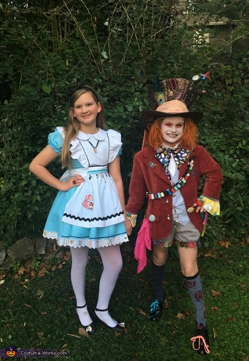 Alice and Mad Hatter Costume
