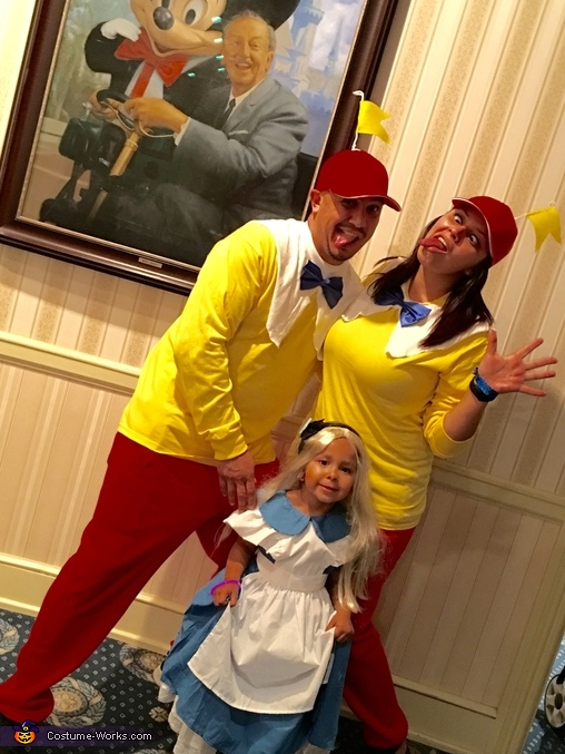 Alice and the Tweedles Costume