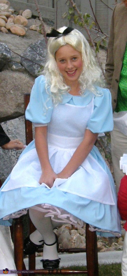 Alice, Alice in Wonderland Family Costume