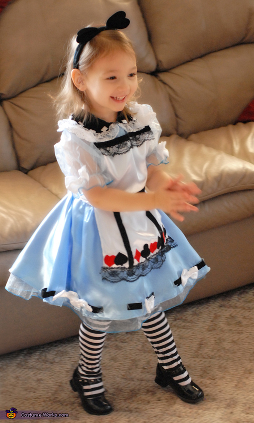 Alice In Wonderland - Store Bought costumes for girls