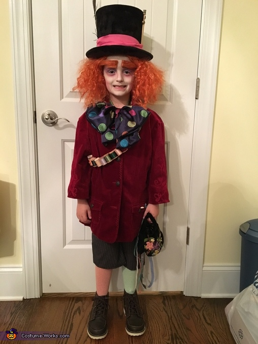 The Hatter Himself, Alice in Wonderland Family Costume