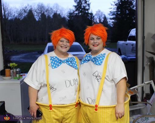 The Tweedles, Alice in Wonderland Group Costume